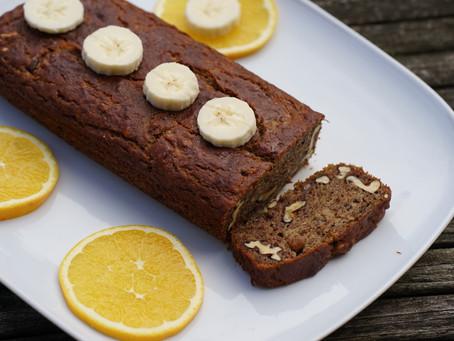 Vegan and Gluten free Banana Bread