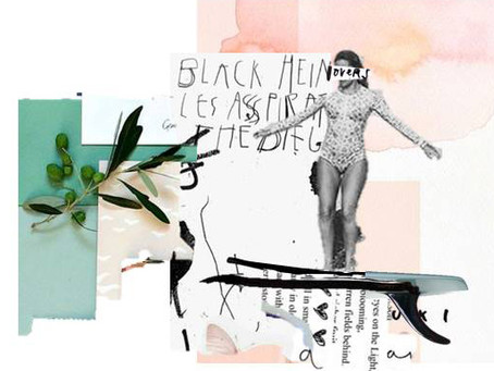 Filipa Costa, a collagist artist