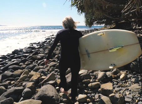 Surfing in your 70's