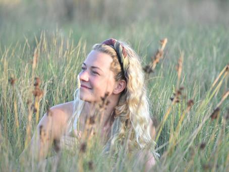Elena Grib, surfeuse et artiste