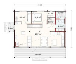 95 m2 plan