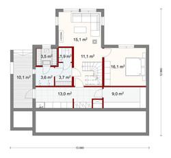 186 m2 plan 2