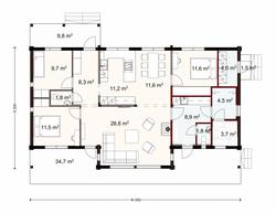 132 m2