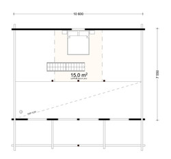 95 m2 loft