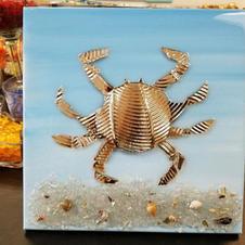Gold crab