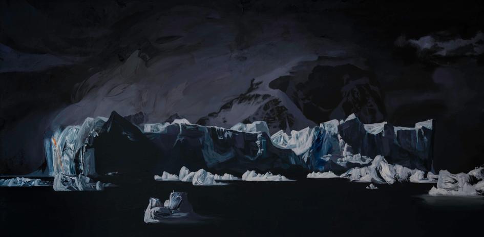Iceberg, Andvord Bay, Antarctica  36_x72