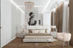 Спальня с современном стиле