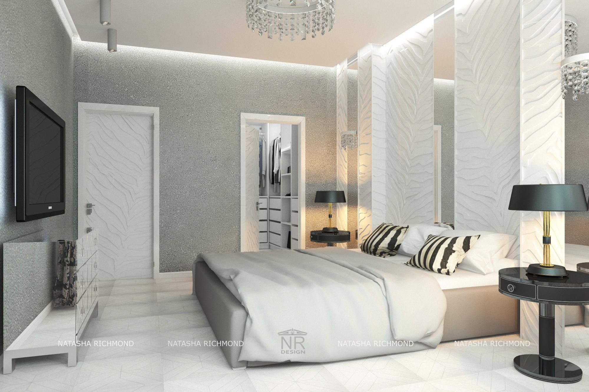 Спальня вид 3