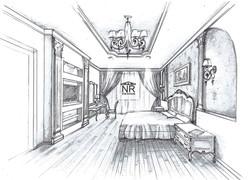 Спальня Классический стиль