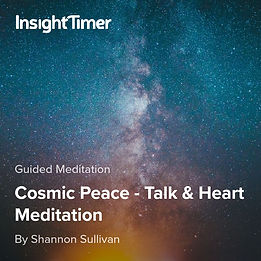 Cosmic Peace A Journey through the Heart into Freedom by Shannon Sullivan
