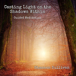 Guided Meditation by Shannon Sullivan Casting Light on the Shadows Within Craniosacral Dialogue 60 Minute Digital Audio Download