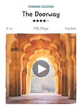 When stepping through the doorway into new experiences we can feel overwhelmed
