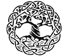Celtic tree image
