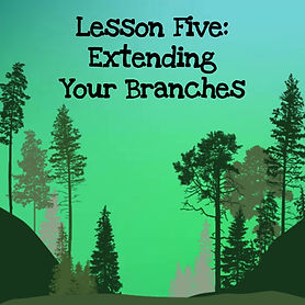 The wisdom of trees audio course. Lesson five extending your branches outward.