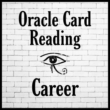 I do Oracle Card Readings on video to assist people on their journey in life.