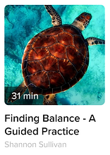 Guided Meditation for Finding Balance in our nervous systems