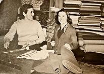 This is a photograph of my Grandma Paula Barletta in New York.