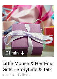 This is a children's story about seeing the gifts in small things.