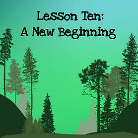 The wisdom of trees audio course. Lesson ten a new beginning.