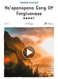 Ho'oponopono Hawaiian Forgiveness Mantra I love you I'm sorry Please forgive me Thank you