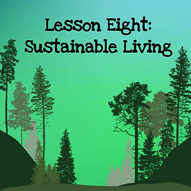 The wisdom of trees audio course. Lesson eight sustainable living.