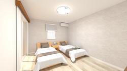 ラパレット中央林間2 寝室