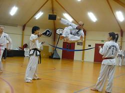 Mr Kabzamalov Flying Side Kick