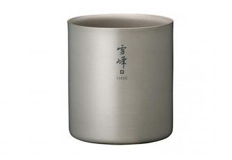 GearHaiku #320 Ti Double H450 Stacking Mug