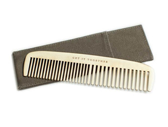 GearHaiku #216 The Get It Together Brass Comb