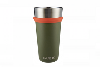 GearHaiku #302 Brew Insulated Pint Glass by Avex