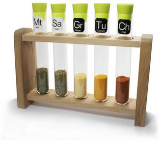 GearHaiku #158 Scientific Spice Rack