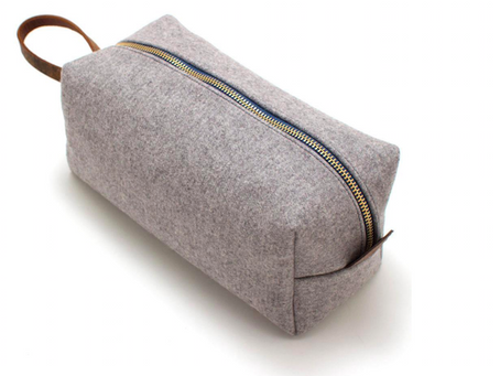 GearHaiku #352 Felted Wool Travel Kit by the General Knot