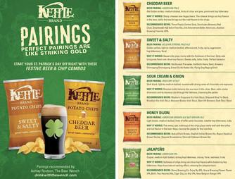 Gear Haiku #17 - Kettle Brand Chips Craft Beer Pairings