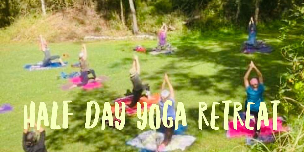 She Shed Half Day Yoga Retreat