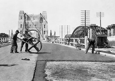Walter Taylor Bridge | State Library of Queensland, ca. 1936