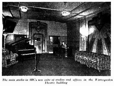 4BC Radio Studio | The Telegraph (1938)