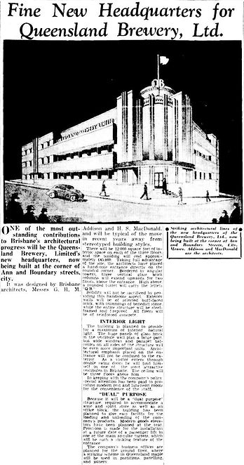 501 Ann Street | The Courier-Mail, 1940