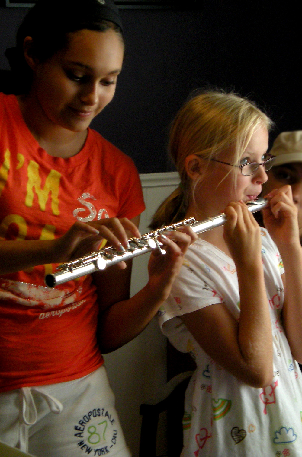 Fun flute games for younger children.