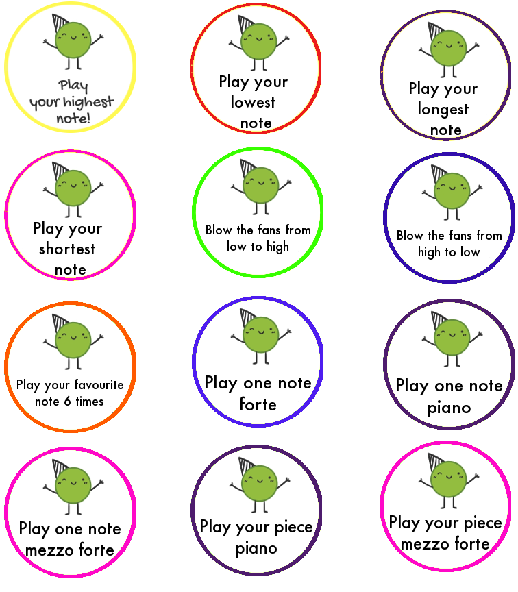 Free music lesson practice printable