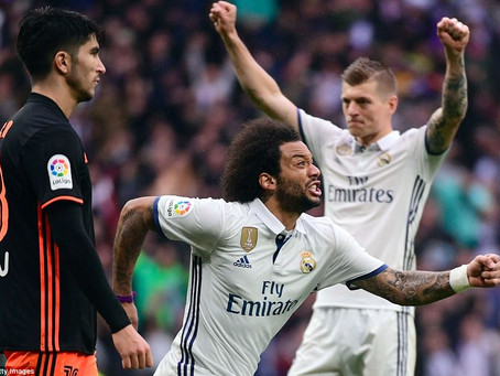 Real Madrid scores vs Valencia: Marcelo played once more, and also this loss is major