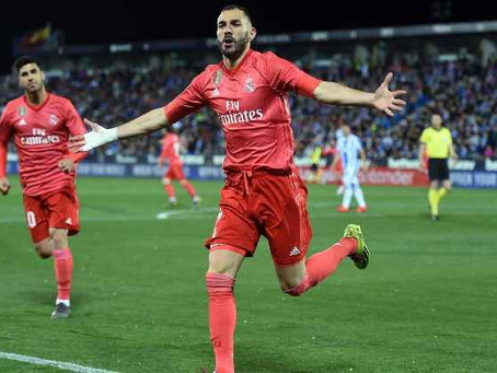 Real Madrid's lacklustre type continues with draw at Legane.