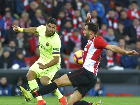 Barcelona held to draw by Athletic Bilbao regardless of Lionel Messi start