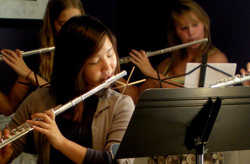 Feisty Flutes flute ensemble