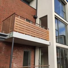 balcony of flats