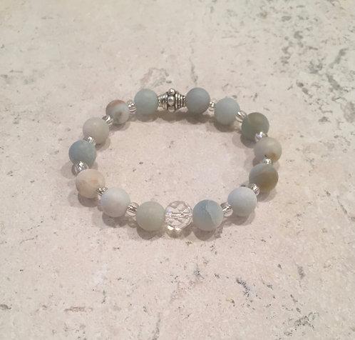 Opalite and Crystal bracelet