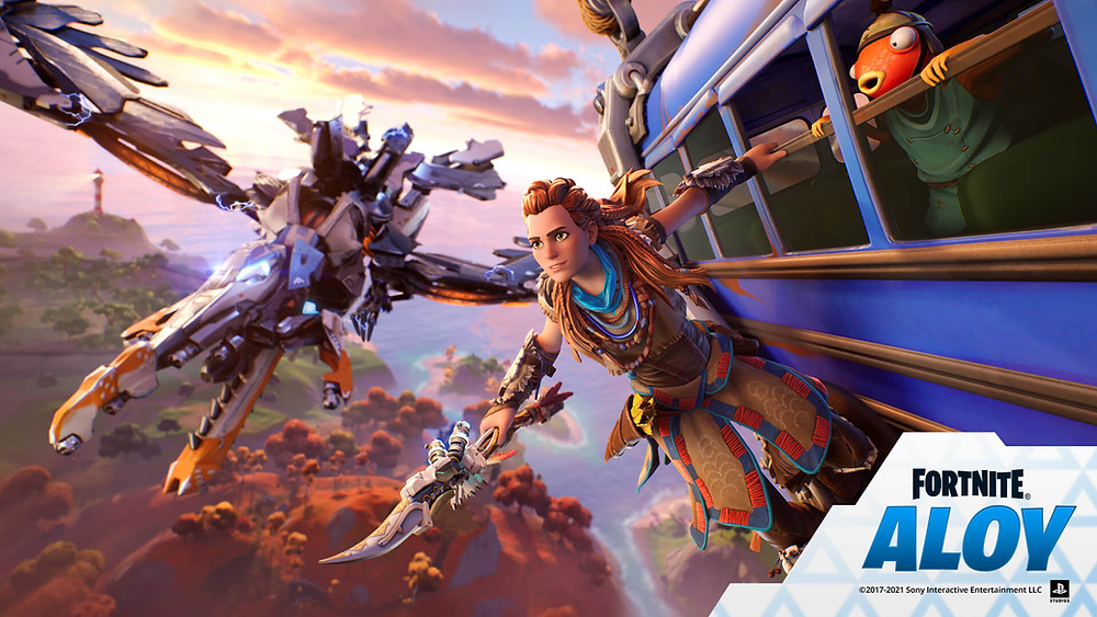 Sony Epic Games Aloy