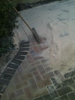 block paving pointing