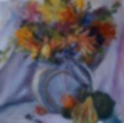 Autumn Shades 12 x 12 Oil on Canvas Boar