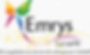 """Logo de Emrys la carte avec le slogan """" la coopérative au service du pouvoir d'achat ! """""""
