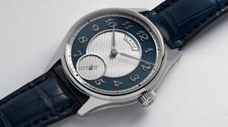 G3 silver guilloche blue 2